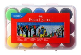 Faber-Castell Poster Color Plastic Box - Pack of 15