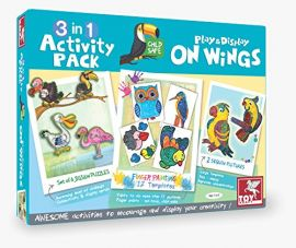 3 in 1 Activity Pack Play & Display On Wings