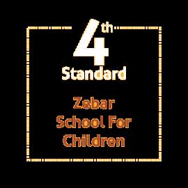 Standard 4 Zebar School For Children Textbook and Notebook Set (With Book Binding)