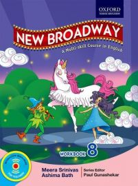 New Broadway Workbook Class 8