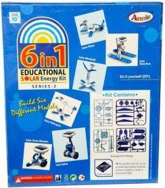 Annie 6 - in - 1 Educational Solar Energy Kit