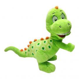 Baby Dinosaur Plush Green & Red Colour 25 Cm