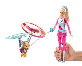 Barbie Star Light Adventure Galaxy Barbie Doll Hover Cat, Multi Color