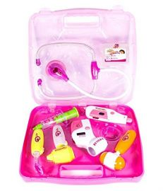 Battery Operated Doctor's Kit with Light Sound Effects, Multi Color