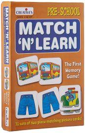 Creative Educational Aids 0626 Match N Learn