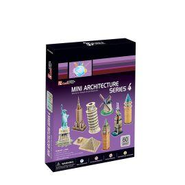 Cubicfun Mini Architectures Series 4