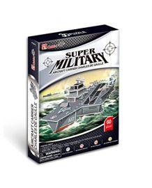 Cubicfun Super military Aircraft Carrier Charles De Gaulle
