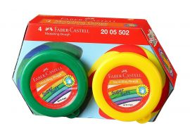 Faber-Castell Modelling Dough - Pack of 4