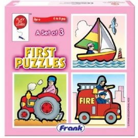 Frank My First Puzzle Transport