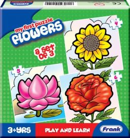 Frank My First Puzzle Flowers