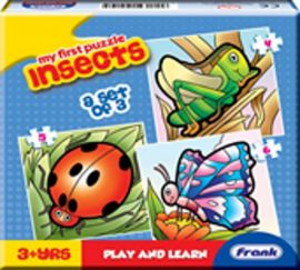 Frank My First Puzzle Insects