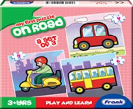 Frank My First Puzzle On Road