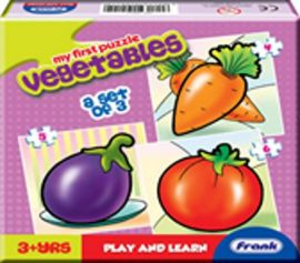 Frank  My First Vegetables Puzzle