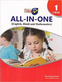 Full Marks All in One Class 1 CBSE (English, Hindi and Mathematic)
