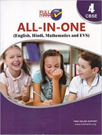 Full Marks All in One Class 4 CBSE (English, Hindi, EVS and Mathematic)