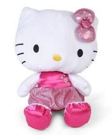 Hello Kitty Plush With Shiny Pink