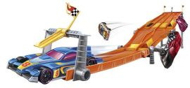Hot Wheels 4-Lane Elimination Race Track Set, Multi Color