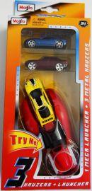Maisto Race Launcher + 3 Metal cars
