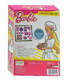 Mattel Barbie Fab Kitchen Set, Multi Color