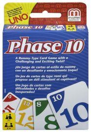 Mattel Phase 10 Card Game, Multi Color