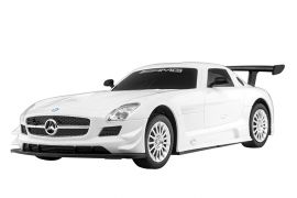 Mitashi Dash  Rechargeable R/C Mercedes Benz SLS AMG GT3, White