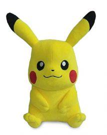 Pokemon Pikachu Sitting Plush, Yellow (14-inch)