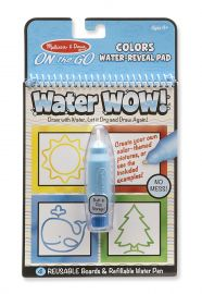 Melissa and Doug on the Go Water Wow Activity Pad, Multi Color