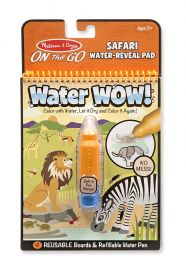 Melissa and Doug on the Go Water Wow Water Reveal Activity Pad, Multi Color