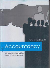 Accountancy - 1 NCERT Textbook Standard - 12 (With Transparent Binding)