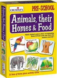 Creative's Animals, Their Homes & Foods