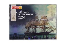 Camlin Kokuyo Artist 5ml Water Color Tube - 24 Shades
