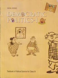 Democratic Politics NCERT Social Science (Civics) Textbook Standard - 9 (With Transparent Binding)