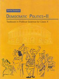 Democratic Politics - II NCERT Social Science (Civics) Textbook Standard - 10 (With Transparent Binding)
