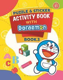 Puzzle & Sticker Activity Book With Doraemon Book 3