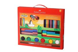 Faber-Castell Art Kit with Paint Brush(Multicolor)