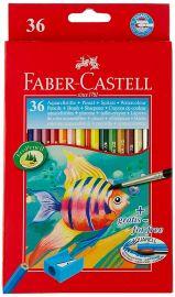 Faber-Castell Design Series Aquarelle Water Color Pencils - 36 Shades