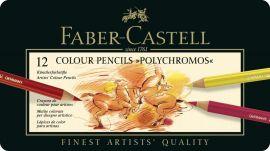 Faber Castell Polychromos Color Pencil Set - Pack of 12