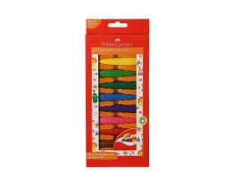 Faber-Castell Kindergarten Grip Crayons - Pack of 10