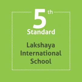 Standard 5 Lakshaya International School Textbooks and Notebooks Set