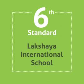Standard 6 Lakshaya International School Textbooks and Notebooks Set