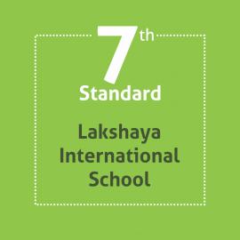 Standard 7 Lakshaya International School Textbooks and Notebooks Set