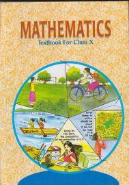 Mathematics NCERT Textbook Standard - 10 (With Transparent Binding)