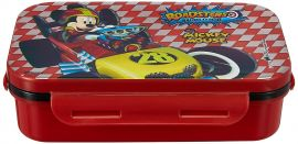 Disney Mickey Mouse Plastic Lunch Box Set, 3-Pieces, Multicolour (HMRPLB 20327-MK)