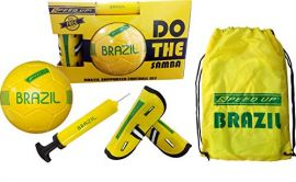 SPEED-UP Brazil Supporter Football Set