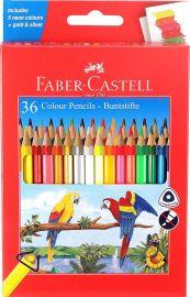 Faber-Castell 36 Triangular Colour Pencils